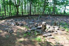 西崎山環状列石(3)