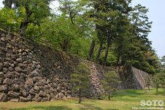 松江城(石垣)