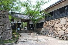 松江城(門)