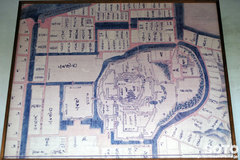 松江城(古い地図)