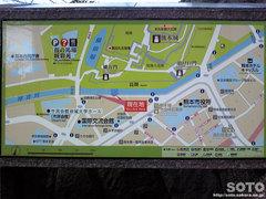 熊本城周辺地図