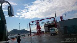 青函フェリー乗船