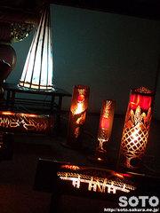 本妙寺 桜灯籠まつり