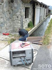 焚き火小屋(3)