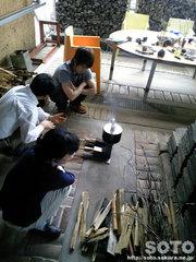 焚き火小屋(1)