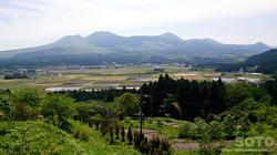阿蘇・二重の峠からの眺め