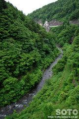 川内川渓谷と川内ダム