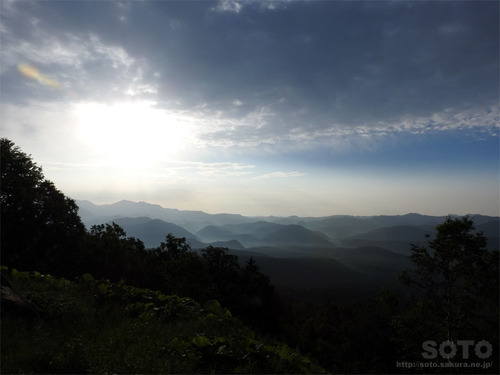 銀泉台からの眺め(1)