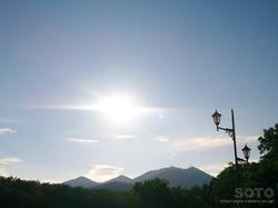 道の駅摩周温泉からの眺め