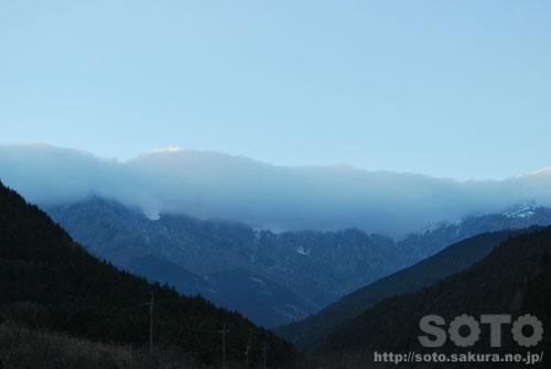 山の風景(20111212_2)