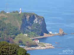 国後展望台からの眺め(鯨の見える丘)