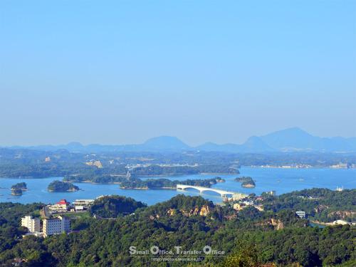 千巌山展望所からの眺め