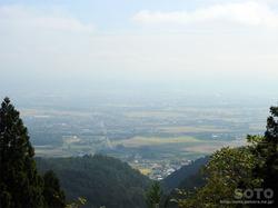 小坂峠からの眺め