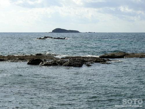 角島海域(壁島ウ渡来地)