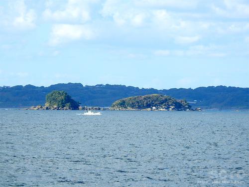 角島海域(双子島)