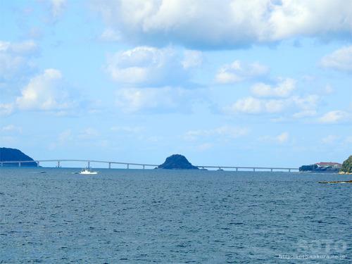 角島海域(角島大橋)