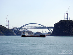 三角西港(天草1号橋)