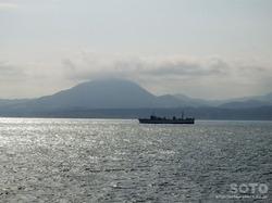 青函フェリー海上からの眺め(2)