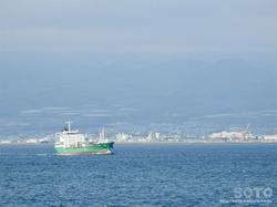 青函フェリー海上からの眺め(5)