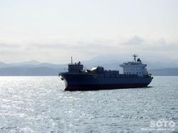 青函フェリー海上からの眺め(6)