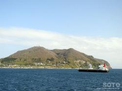 青函フェリー海上からの眺め(8)