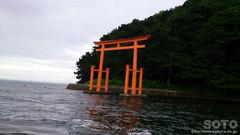 浅虫 湯ノ島の鳥居