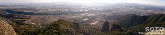 不動岩からの眺め(パノラマ)