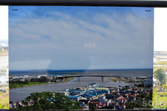 日和山公園からの眺め(震災前の写真)