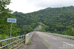 桂沢湖(桂竜橋)