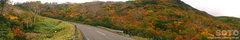 知床横断道路(パノラマ1)