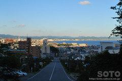 函館観光(函館護国神社からの眺め)