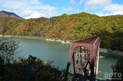湯西川(鉄橋)