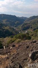 霊巌洞(黒岩展望所からの眺め)