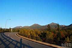 望岳台(橋からの眺め)
