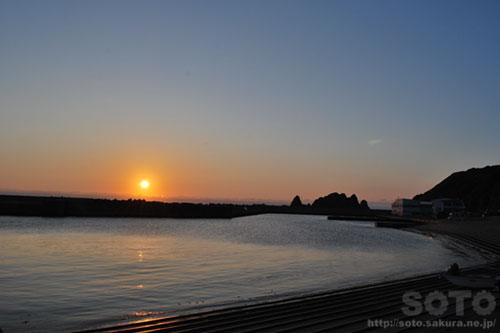 2013/06/23の夕陽