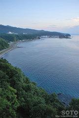 プユニ岬からの眺め
