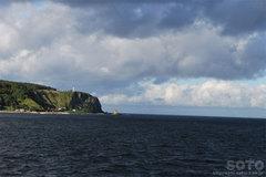 鯨の見える丘と灯台