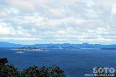 野母半島県立公園(権現山展望公園からの眺め)