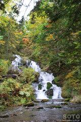 白金不動の滝(2)