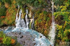 白ひげの滝(2)