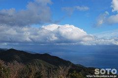 諭鶴羽登山(山頂2)