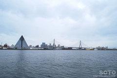 青森港風景