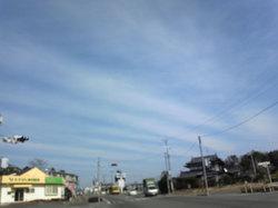 今日の空(20110127)