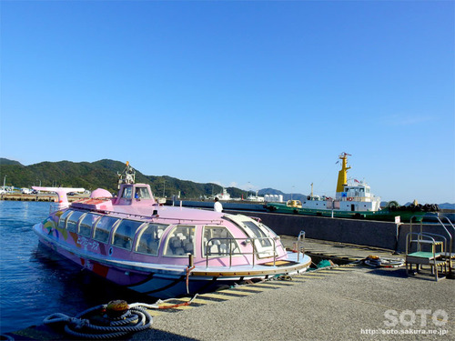 青海島一周(観光汽船)