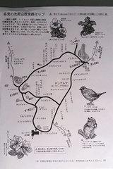 旭岳探索路案内図