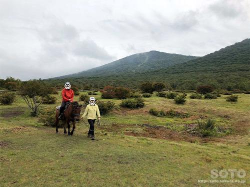 あっぴ高原遊々の森・乗馬体験(2)