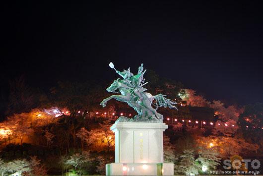 菊池の夜桜(7)
