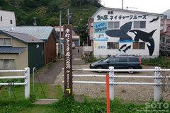 羅臼(足湯への道)
