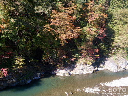 道の駅 大滝温泉からの眺め