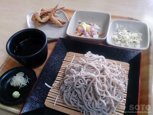 道の駅 たくみの里(蕎麦)